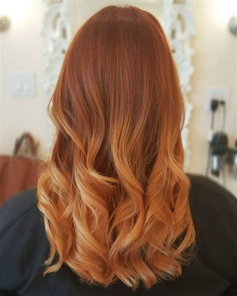 balayage ideas  red  copper hair styleoholic