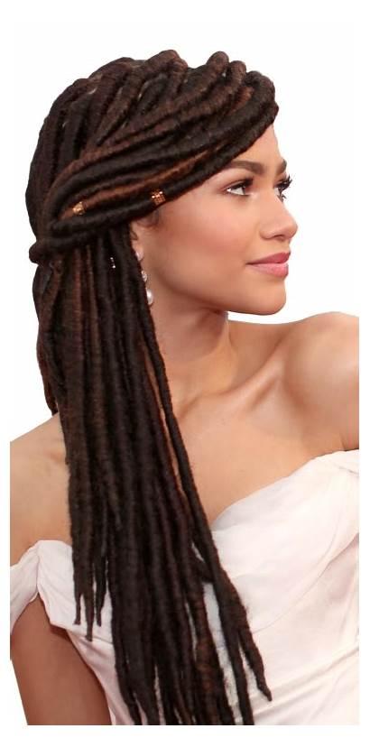 Hairstyles Zendaya Braids African Braid Cool Straight