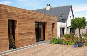 Bardage Exterieur Pvc : maison bois et fermeture pvc ou alu 41 messages page 2 ~ Premium-room.com Idées de Décoration