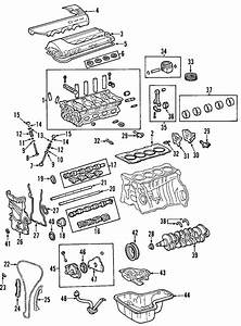 Toyota Celica Engine Crankshaft Main Bearing