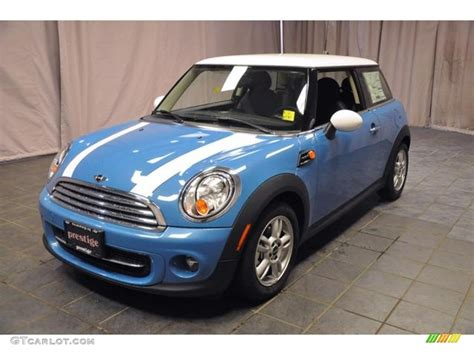 Mini Cooper Blue Edition Picture by Light Blue Mini Cooper 2013 Kite Blue Mini Cooper Hardtop