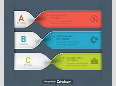 Spiral infographics with icon options banner cdraicom