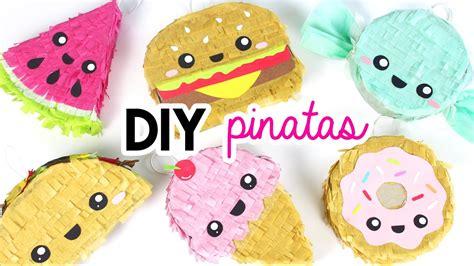 how to make diy mini pinatas youtube