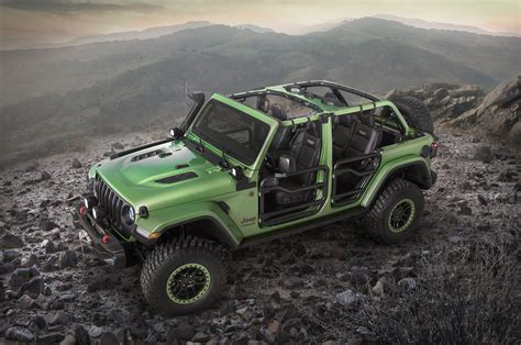mopar shows  modified jeep wranglers  la motor