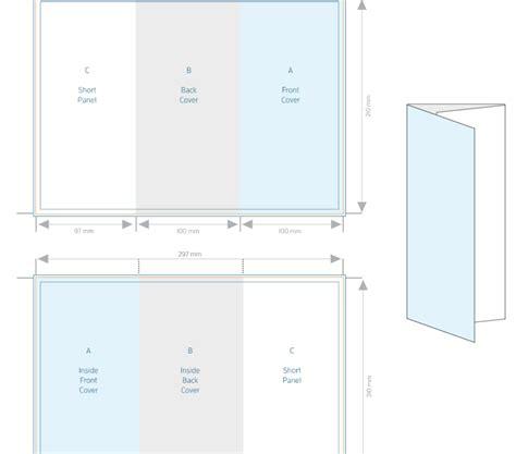 A4 Tri Fold Brochure Template Allprinting Brisbane A4 Tri Fold Brochure Template Allprinting Brisbane