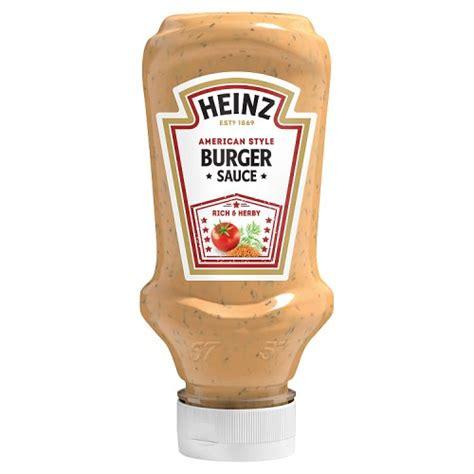 Heinz Burger Sauce - BBQ Chilli Marinades