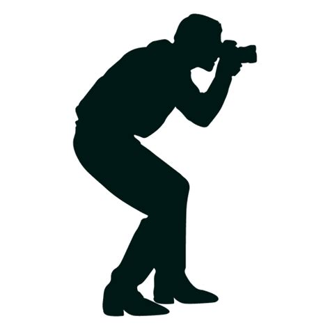 13276 photographer silhouette png taking photo silhouette transparent png svg vector