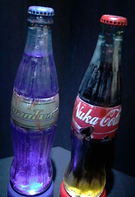 fallout themed nuka cola bottles by peter robert on deviantart