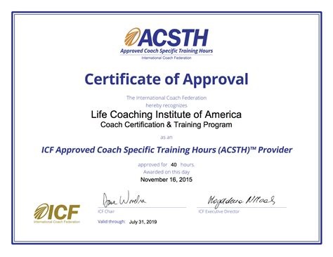Life Coach Certification & Training