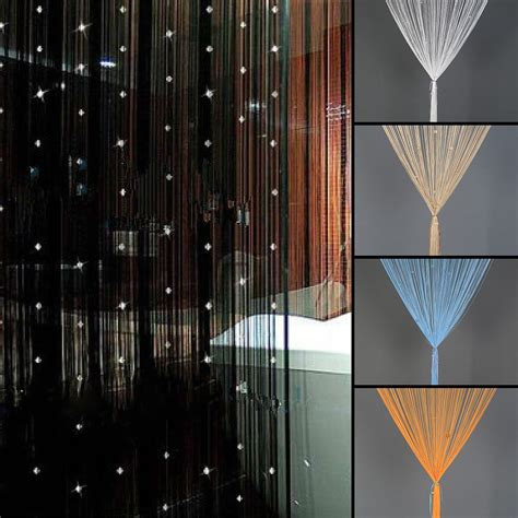 String Curtains by Details About Beaded String Curtain Room Divider Curtain