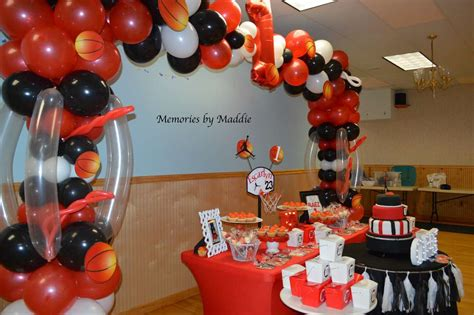 michael jordan basketball birthday party ideas photo 2
