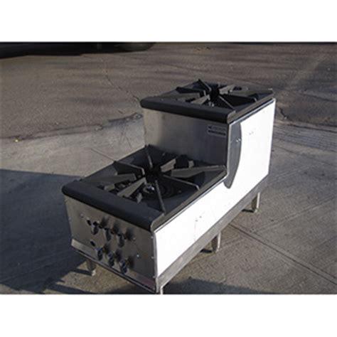 Double Burner, Step up, Stock Pot Range DBL Candy Stove