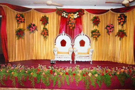 simple wedding stage decoration cost decoratingspecial