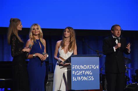 foundation fighting blindness magdalena frackowiak danielle knudson photos photos zimbio