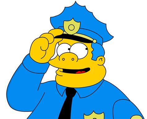 Indiana Police Chief Wiggum Nd's Glock On Jacket