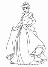 Principesse Cinderella Projectremedium sketch template
