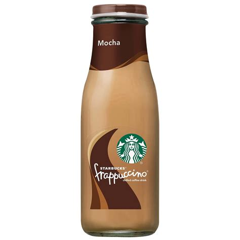 Foamed milk marked with espresso, vanilla and real caramel. Starbucks Mocha Frappuccino Coffee Drink - Shop Coffee at H-E-B