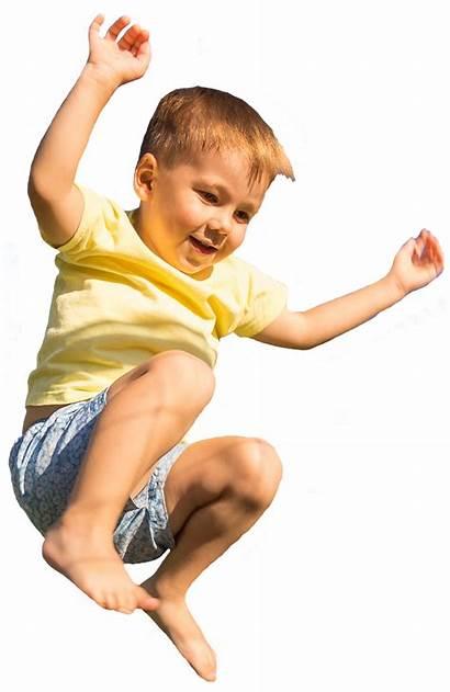 Jumping Boy Sports Children Aviate Ages