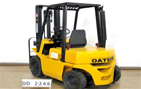 Datsun Forklift by Demetriades Handling Uk Since 1999 Used Forklifts