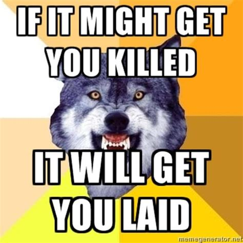 Courage Wolf Memes - courage wolf meme