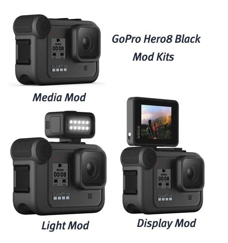 gopro hero hero black action cams differences