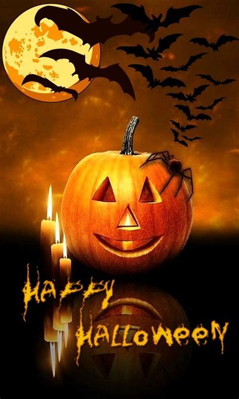 On goodfon you can search wallpapers by keyword in a specific category, sort by relevance, downloads, rating, or comments, and crop results further by picking from a resolution, including. Cell Phone Halloween Wallpaper - WallpaperSafari