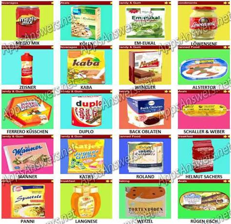 quiz cuisine food quiz trivia germany pack 9 answers apps answers