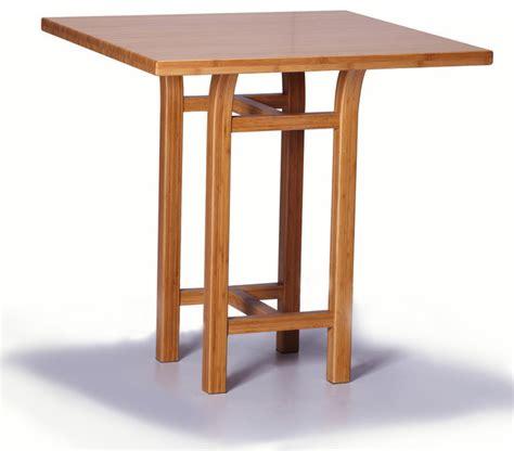 bar height side table greenington tulip bar height table in classic bamboo