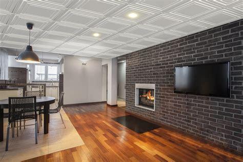 installation d une cuisine tuiles plafond suspendu quatro 24 quot x 24 quot plaza murdesign