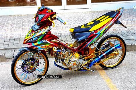 Jupiter Mx Modifikasi Racing Look by Modifikasi Motor Jupiter Z Racing Look Jupiter T Drag Bike