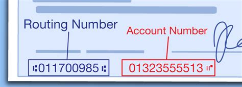 find routing number   check