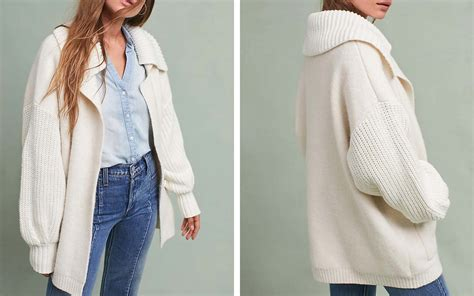 Warm, Cozy Cardigans For Cold Plane Cabins