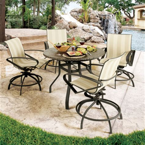 benton swivel rocker balcony stool by homecrest family