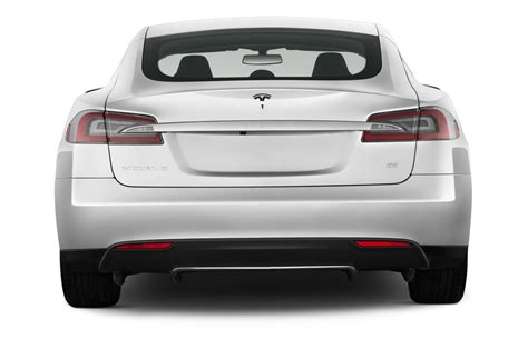 rear view 2013 tesla model s reviews and rating motor trend