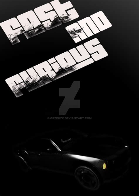 Fast And Furious Minimalism Poster By Grzebyk On Deviantart