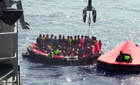 Fishing Boat Disasters by Migrants Scattered Across Mediterranean Sea After Fishing
