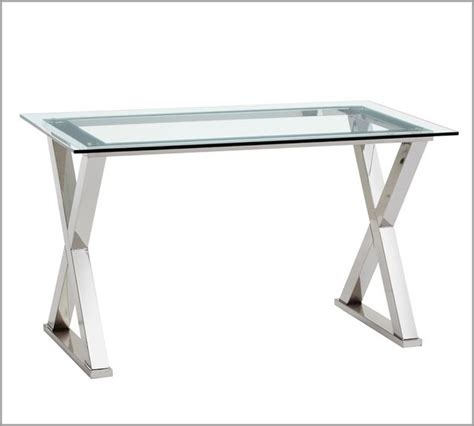 Pottery Barn Table Ls Glass by Desk Modern Desks And Hutches By Pottery Barn