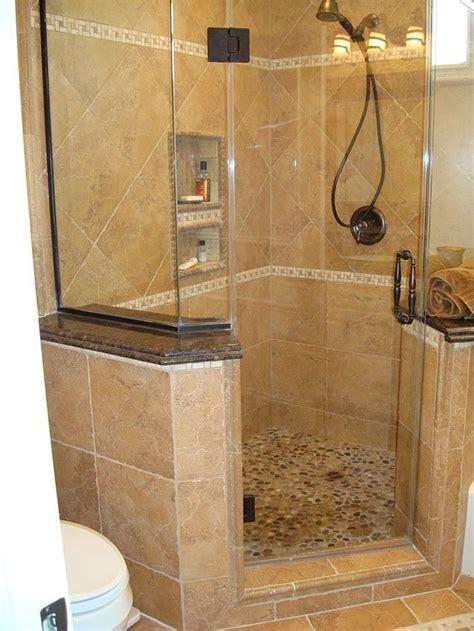 corner showers bathroom ideas  pinterest