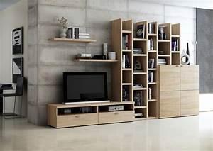Bücherwand Mit Tv : wohnwand b cherwand wei hochglanz kommode ~ Michelbontemps.com Haus und Dekorationen