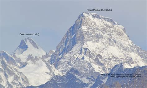 Himalayan Mountains Of Nanda Devi & Valley Of Flowers
