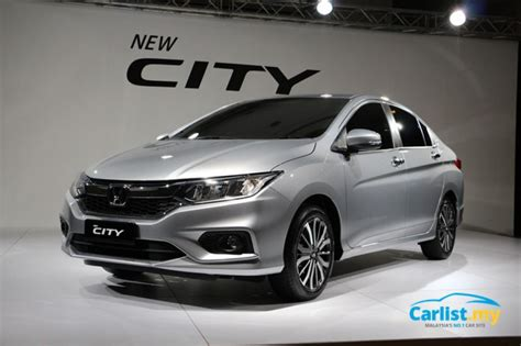 New 2017 Honda City Facelift Previewed In Malaysia Vsa