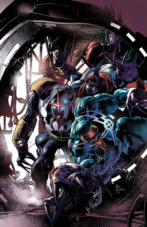 sleuth images marvel characters  venomized