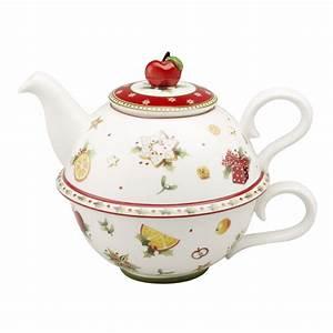 Porzellan Und Keramik : tea for one tasse und kanne villeroy boch winter bakery porzellan und keramik specials ~ Markanthonyermac.com Haus und Dekorationen