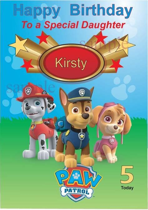 25 Of the Best Ideas for Paw Patrol Birthday Wishes Home