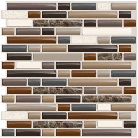 smart tiles bellagio mosaik peel n stick backsplash