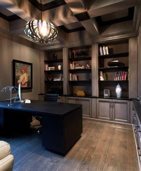 11 Cool Home Office Ideas For Men  Office Pinterest