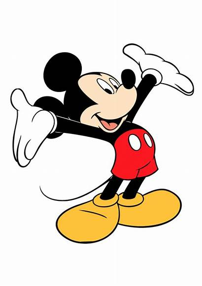 Mickey Mouse Vector Clipart Objects