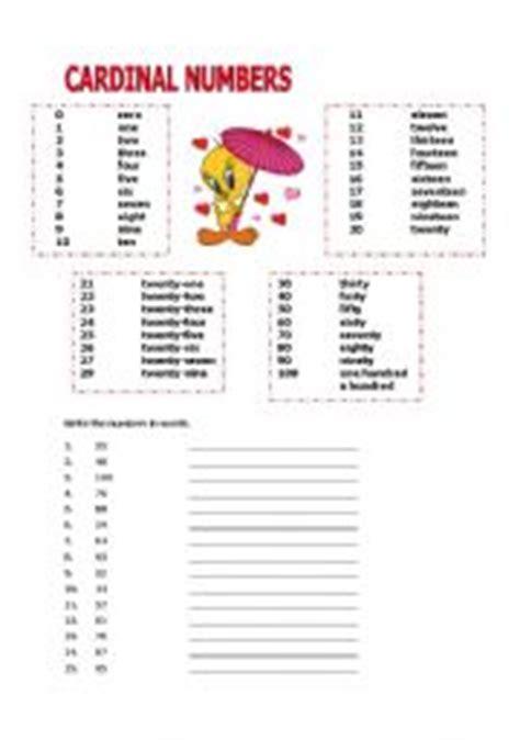 worksheet cardinal numbers 1 100 worksheet cardinal numbers 1 100 luz