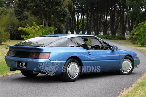 Renault Alpine GTA V6 Coupe Auctions - Lot 11 - Shannons
