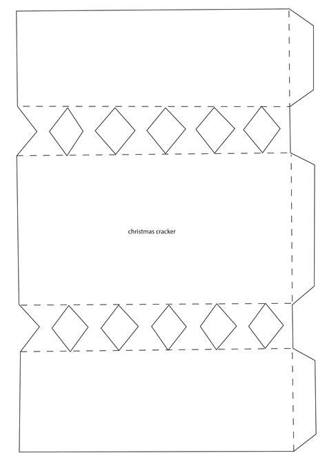 cracker template printable cracker template printable for